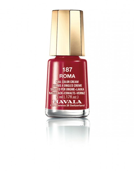 MAVALA Nail Polish Clebrating Colors Roma