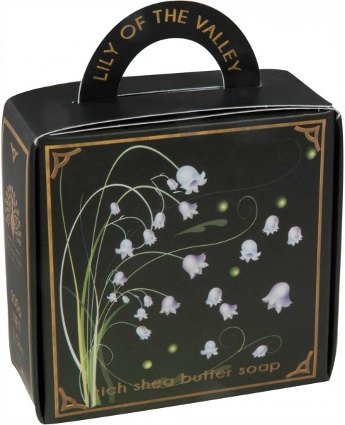 ESC Lily of the Valley Luxury Soap Falt-Box