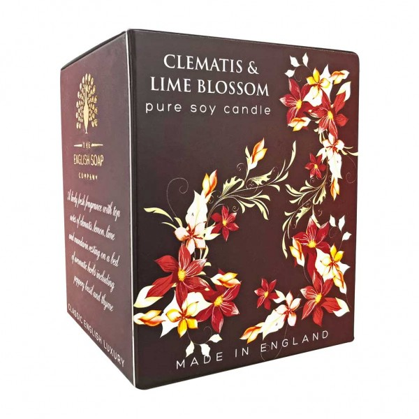 ESC Clematis & Lime Blossom Soy Wax Candle