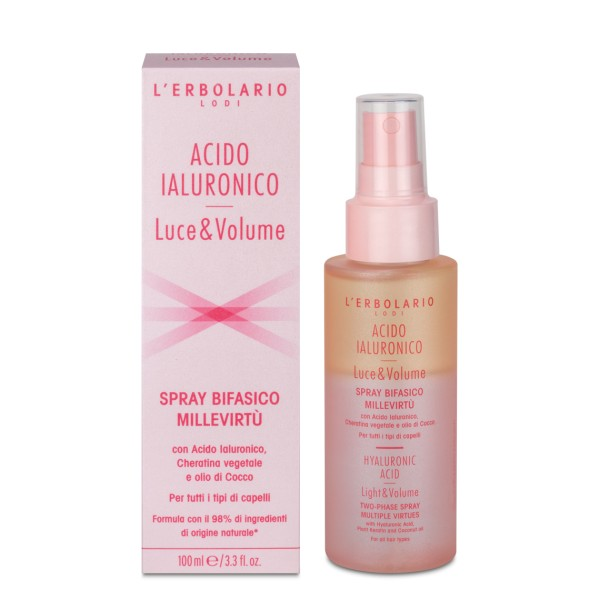 L'ERBOLARIO Hyaluronic Acid Volumen 2 Phasen Fülle-Spray